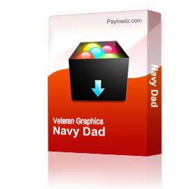 Navy Dad & Daughter [1666] | Other Files | Graphics
