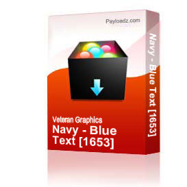 Navy - Blue Text [1653]   Other Files   Graphics