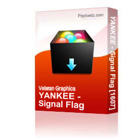 YANKEE - Signal Flag [1607] | Other Files | Graphics