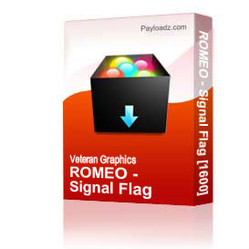 ROMEO - Signal Flag [1600] | Other Files | Graphics