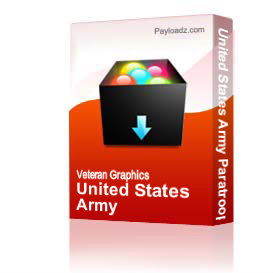 United States Army Paratrooper [1497] | Other Files | Graphics
