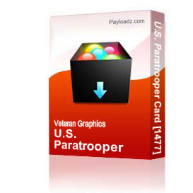 U.S. Paratrooper Card [1477] | Other Files | Graphics