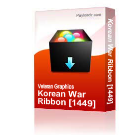 Korean War Ribbon [1449] | Other Files | Graphics