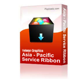 Asia - Pacific Service Ribbon [1418] | Other Files | Graphics