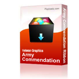 Army Commendation Ribbon [1391] | Other Files | Graphics