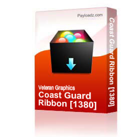 Coast Guard Ribbon [1380] | Other Files | Graphics
