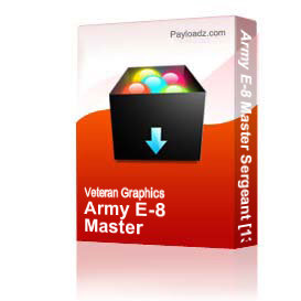 Army E-8 Master Sergeant [1338] | Other Files | Graphics