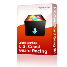 u.s. coast guard racing stripe - right [2288]