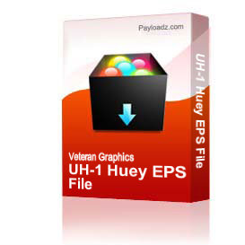 UH-1 Huey EPS File | Other Files | Graphics