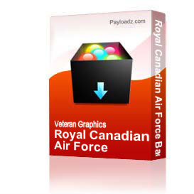 Royal Canadian Air Force Badge [2827] | Other Files | Graphics