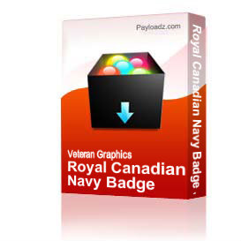 Royal Canadian Navy Badge JPG File | Other Files | Graphics