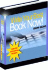 Write Your Best Book Now   eBooks   Non-Fiction