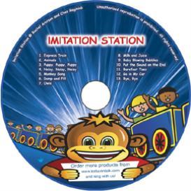 stacja imitacja: cd #1 z 13 piosenkami do nauki jezyka angielskiego