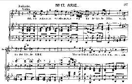Ach, Ich Fühl's, Es Ist Verschwunden (Soprano Aria). W.A. Mozart: Die Zauberflöte, K.620, Vocal Score (W. Kienzl). Universal Edition UE 245 (1901) | eBooks | Sheet Music