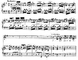 Idol mio se ritroso altra amante (Soprano Aria). With Recitative Chi mai del mio provò.... W.A.Mozart: Idomeneo K.366, Vocal Score. Ed. Braunschweig-Litolff 147 (1900). italian | eBooks | Sheet Music