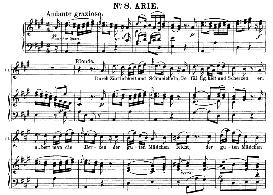 Durch Zârtlichkeit Und Schmeicheln (Soprano Aria). W.A.Mozart: Die Entführung Aus Dem Serail, K.384, Vocal Score (G. Kogel). Ed. Peters (1881) | eBooks | Sheet Music