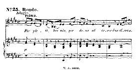Per pietà, ben mio (Aria for Soprano). With recitative Ei parte...  W.A.Mozart: Cosi fan tutte, K.588, Vocal Score (H. Levi). Universal Edition  (VA 1666), reprint from Breitkopf (1898) italian | eBooks | Sheet Music