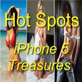 hot spots iphone 5 treasures