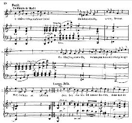 zum leiden bin ich auserkoren. (aria for soprano). with recitative