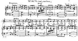 Vedrai carino (Aria for Soprano or Mezzo). W.A.Mozart: Don Giovanni, K.527, Vocal Score. Ed. Schirmer (1900) It-engl. | eBooks | Sheet Music