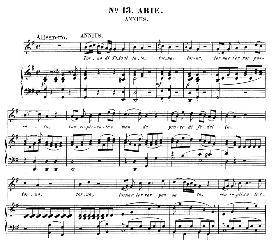 Torna di Tito a lato (Mezzo Aria). W.A.Mozart: La clemenza di Tito, K.621, Vocal Score. Ed. Peters Leipzig, 1870 (italian) | eBooks | Sheet Music