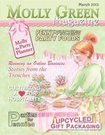 Molly Green Magazine: Plan a Party with Molly in March