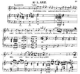 Dies bildnis ist bezaubernd schön (Tenor Aria). W.A. Mozart: Die Zauberflöte, K.620, Vocal Score (W. Kienzl). Universal Edition UE 245 (1901) | eBooks | Sheet Music