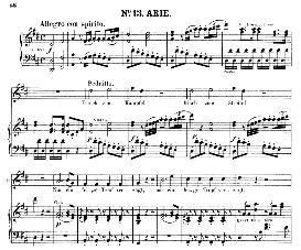 Frisch zum kämpfe! (Tenor Aria). W.A.Mozart: Die Entführung Aus Dem Serail, K.384, Vocal Score (G. Kogel). Ed. Peters (1881) | eBooks | Sheet Music