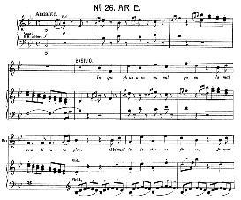 In quegli anni in cui val poco (Tenor Aria). W.A.Mozart :Le Nozze di Figaro, K. 492. Vocal Score (Brüll). Universal Edition UE 177 (1901) (Italian) | eBooks | Sheet Music