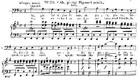 Ah! Pieta, Signori miei (Aria for Bass). W.A.Mozart: Don Giovanni, K.527, Vocal Score. Ed. Schirmer, it-engl (1900) | eBooks | Sheet Music