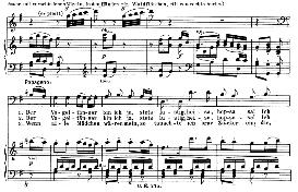 der vogelfänger bin ich ja (aria for baritone or bass). w.a. mozart: die zauberflöte (the magic flute) k.620, vocal score (w. kienzl). universal edition ue 245 (1901)