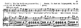Erst geköpft, dann gehangen (Aria for Bass). W.A.Mozart: Die Entführung Aus Dem Serail, K.384, Vocal Score (G. Kogel). Ed. Peters (1881) | eBooks | Sheet Music