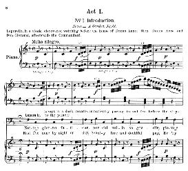 Notte e giorno faticar (Aria for Bass). W.A.Mozart: Don Giovanni, K.527, Vocal Score. Ed. Schirmer, it-engl (1900)   eBooks   Sheet Music