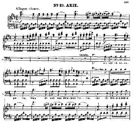 Oh! Wie will ich triumphiren (Aria for Bass). W.A.Mozart: Die Entführung Aus Dem Serail, K.384, Vocal Score (G. Kogel). Ed. Peters (1881) | eBooks | Sheet Music
