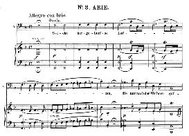 Solche hergelaufne laffen (Aria for Bass). W.A.Mozart: Die Entführung Aus Dem Serail, K.384, Vocal Score (G. Kogel). Ed. Peters (1881) | eBooks | Sheet Music