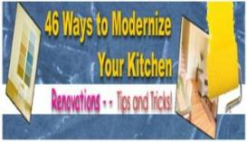 46 ways to modernize your kitchen