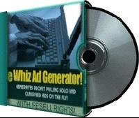 E Whiz Ad Generator | Software | Business | Other