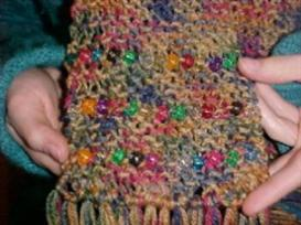 Make Your Own Beaded Scarf | eBooks | Arts and Crafts