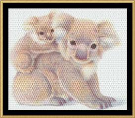 a mother's love collection koala bear