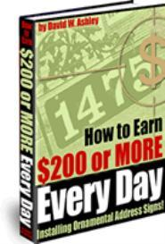 How to Earn $200 or more Every Day | eBooks | Business and Money