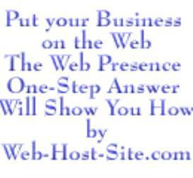 Web Presence One-Step Answer | eBooks | Business and Money