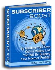 Subscriber Boost | eBooks | Business and Money