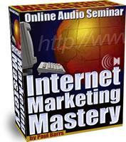 Internet Marketing Mastery - Vol 1-2-3-4 | Audio Books | Internet