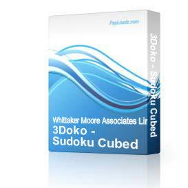 3Doko - Sudoku Cubed | eBooks | Games