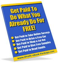 get paid to do what you already do for free