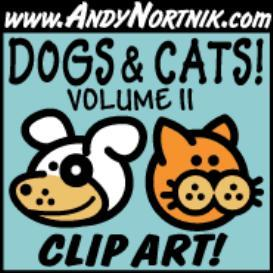 Dog Clip Art And Cat Clip Art 2 | Photos and Images | Clip Art
