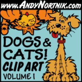 dog clip art 1