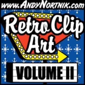 retro clip art 2