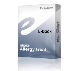 Allergy treat. | eBooks | Health