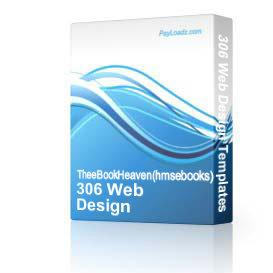306 Web Design Templates MASTER RESELL RIGHTS PACKAGE! | Software | Internet